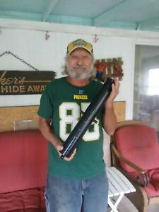 "Black Powder Cannon Barrel 21"" inch Long 1""inch Bore"