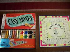 Easy Money Board Game Milton Bradley 1958 Vintage Missing Dice 4620 Complete