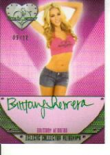 2013 Benchwarmer Electic Collection Brittany Herrera Autograph 09/10