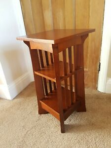 Solid Wooden Mahogany Hallway Unit Side Table