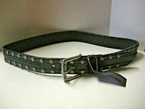 Harley-Davidson Men's Belt, H-D Motor Studs Design, Black, Size 36, Brand New