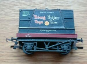 Triang Hornby OO Gauge TRIANG TOYS / PEDIGREE PRAMS Container Wagon R.561