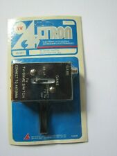 Vintage ALTRON  TV-Video Game/Computer Switch VHF New/Sealed on card
