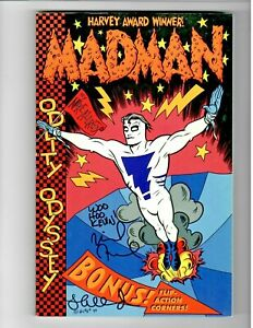 🚚 Madman Oddity Odyssey Signed by Mike & Laura Allred Dark Horse 1995 NM!