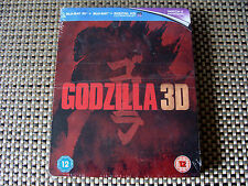 Blu Steel 4 U: Godzilla : 3D & 2D Limited Edition Steelbook 2 Discs Sealed