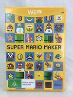 Super Mario Maker - Nintendo Wii U - PAL