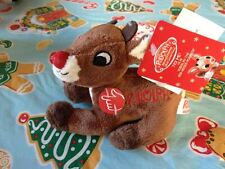 """Musical 6"""" Rudolph The Red Nosed Reindeer Plush Dandee Collectors Brand New Tags"""