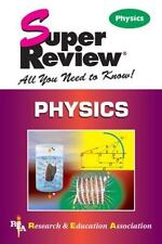 Physics by Research & Education Association Paperback Book (English)