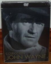 RIO BRAVO CENTAUROS DEL DESIERTO STEELBOOK 4 DISCOS DVD NUEVO ACCION JOHN WAYNE