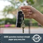 Sabre Red Pepper Spray Keychain Dog Bear Repellent Self Defense Protection