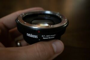 Metabones Canon EF Lens to Micro Four Thirds Speed Booster for OMD/GH4/BMPCC MFT