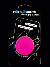Authentic PopSockets Hot Pink Magenta PopSocket Pop Socket Phone Holder Grip