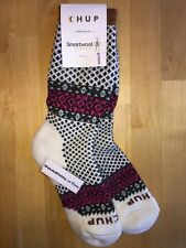 SmartWool CHUP Tahiti Crew Socks – Natural Heather, Casual Dress – Women MED