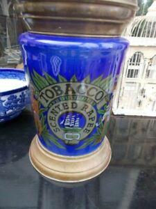 Large Vintage Tobacco Jar - Scented Rapee