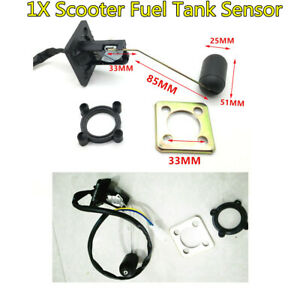 Oil Gas Fuel Tank Sensor Sending Kit For GY6 50-250cc 4 stroke GY6 Moped Scooter