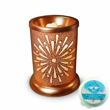 Owlchemy Sunburst Electric wax burner  (tart warmer) with light & summer scents
