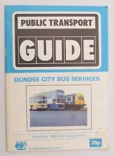 Scotland Booklet Public Timetables Collectables