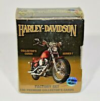 Vintage 1992 Harley-Davidson 100 Collectors Cards Series 1 New Sealed Hologram