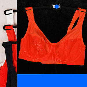 Marks & Spencer £15 High Impact Full Cup Sports Bra Mesh M&S 6353