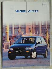 Suzuki Alto range brochure Mar 2001