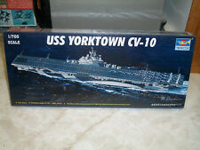 Trumpeter 1/700 Scale USS Yorktown CV-10.- Factory Sealed