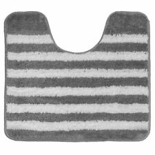 Polygon Medium Striped Bath Mats