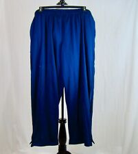 Athletic Works Men's Athletic Workout Exercise Pants Blue Two Pockets  Size 2XL