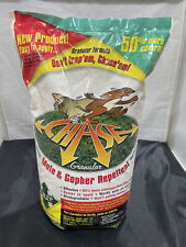 New Chase Granular Mole Gopher Vole Armadillo Repellent 6lb Bag 6000 Sq Ft
