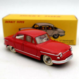 DeAgostini Dinky toys 547 PL 17 Panhard Red 1:43 Diecast Models Limited Edition