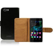 Fundas con tapa de piel sintética para teléfonos móviles y PDAs Wiko