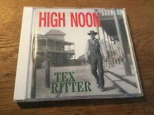 Tex Ritter - High Noon  [CD Album] Bear Family