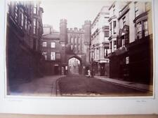 The Bar Scarborough     . Victorian Photograph mounted on album card