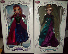 "Disney Limited Edition 17"" Deluxe  10  DOLLS IN  THE SERIES NIB"