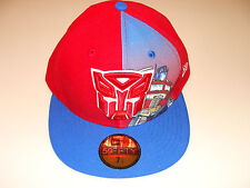 Autobot New Era Cap Hat Fitted 7 3/4 Panel Sub Dual Logo 59Fifty Transformers