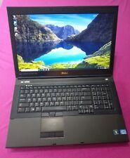 FAST! Dell Precision M6700 Intel I7-3820qm 2.7-3.7Ghz 16GB ram 256GB M1000M W10