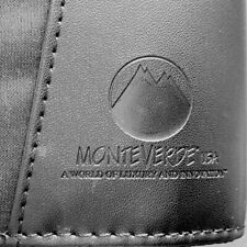 MONTEVERDE Black Pen Collector Case Velvet 36 Pen Holders FREE US Ship