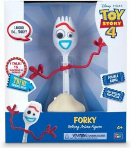 NEW TOY STORY 4 FORKY TALKING ACTION FIGURE