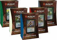 Strixhaven Commander 2021 Decks Set of all 5 IN STOCK SEALED NEW