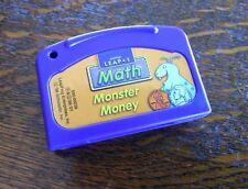 Kids Leapfrog Math Monster Money LeapPad Cartridge Preschool Game Learning Pad