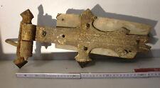 Antikes Scharnier Torbeschlag Schmiedeeisen Guss RAR für antikes TOR