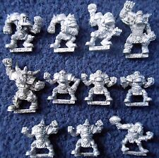 1993 orc bloodbowl 3rd edition team citadelle orcland raiders ork fantasy football