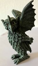 "3.5"" Tall Winged Eagle Antique Brass Finish Guardian Gargoyle Collection"