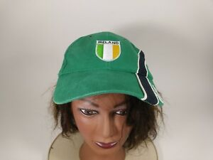 IRELAND Green Vintage Ball Cap Embroidery