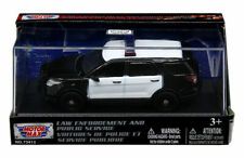 MOTOR MAX 1:43 2015 FORD POLICE INTERCEPTOR DIECAST CAR 73412