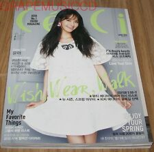 CECI GIRLS' GENERATION YOONA FTISLAND BTS KOREA MAGAZINE 2015 APR APRIL NEW