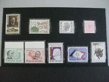 timbres belgique : 1974 cob n° 1725 à 1733 **