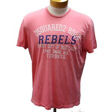 Dsquared2 Pink Dsq2 Classic Lake Shore Toronto 'rebels' Men's L