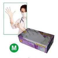 SunnyCare #7702 Powder-Free Synthetic Vinyl Exam (Latex Nitrile Free) Gloves (M)