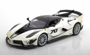 1:18 Bburago Ferrari FXX K Evo 2018 whitemetallic/black