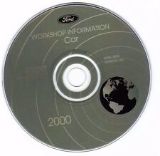 FORD - 2000 Car Service Information CD - Mustang - Focus - Taurus - Sable   14.0